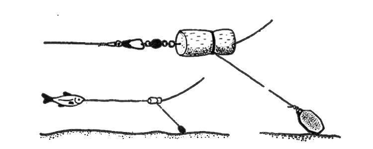 Щука окунь судак донная снасть своими руками